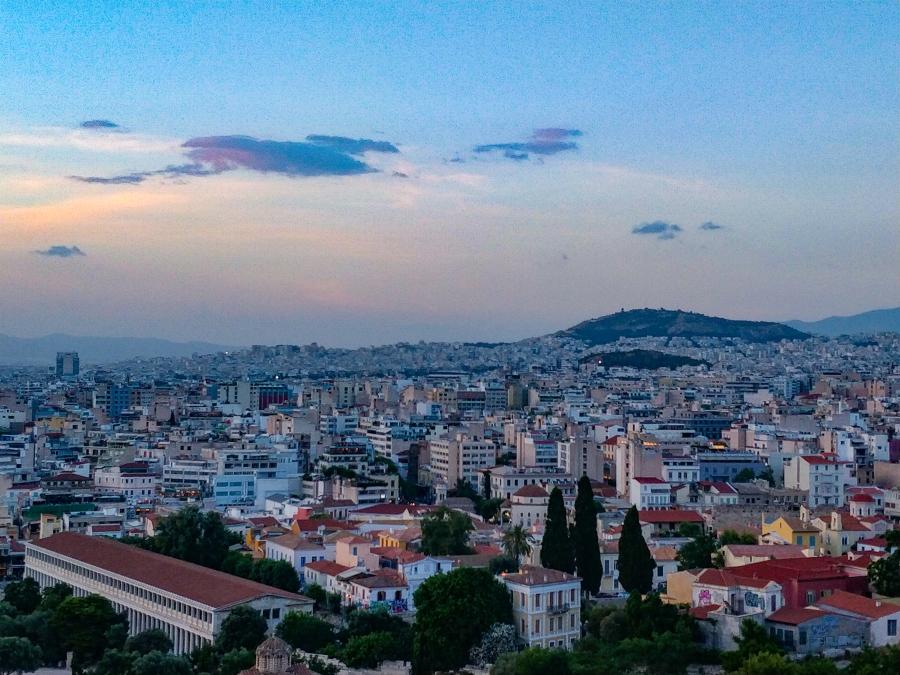 Balkan / Italien: Tag 15 – Lamia –Athen